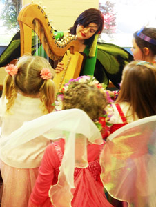Warburton Fairy at Lilydale Library